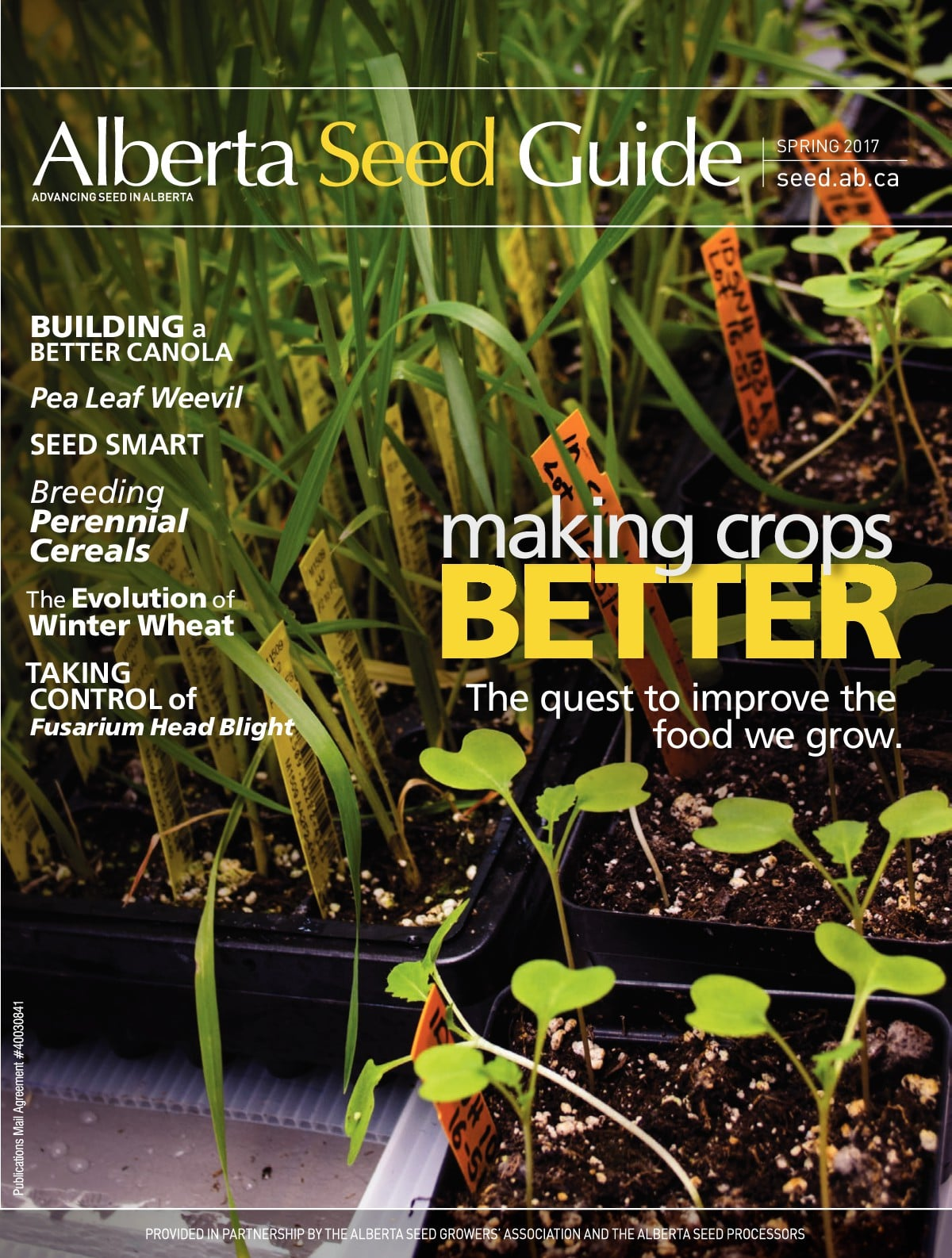 Spring 2017 – Making Crops Better