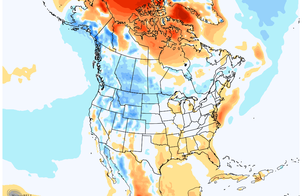 April 2020 Temperature Outlook