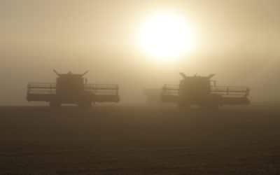 Alberta Harvest Nearing Completion