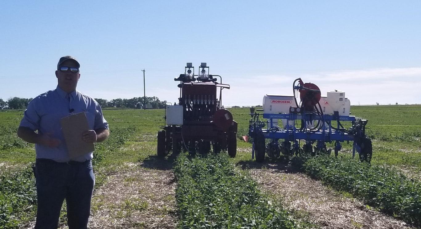 strip tiller and Monosem precision planter