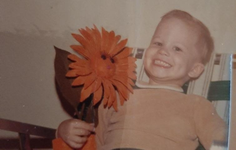 Kevin Folta as a child
