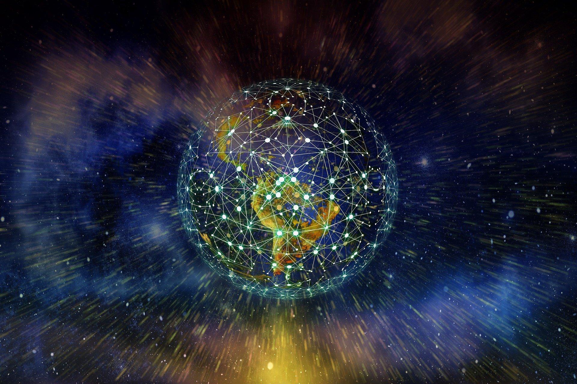 Digital globe of earth