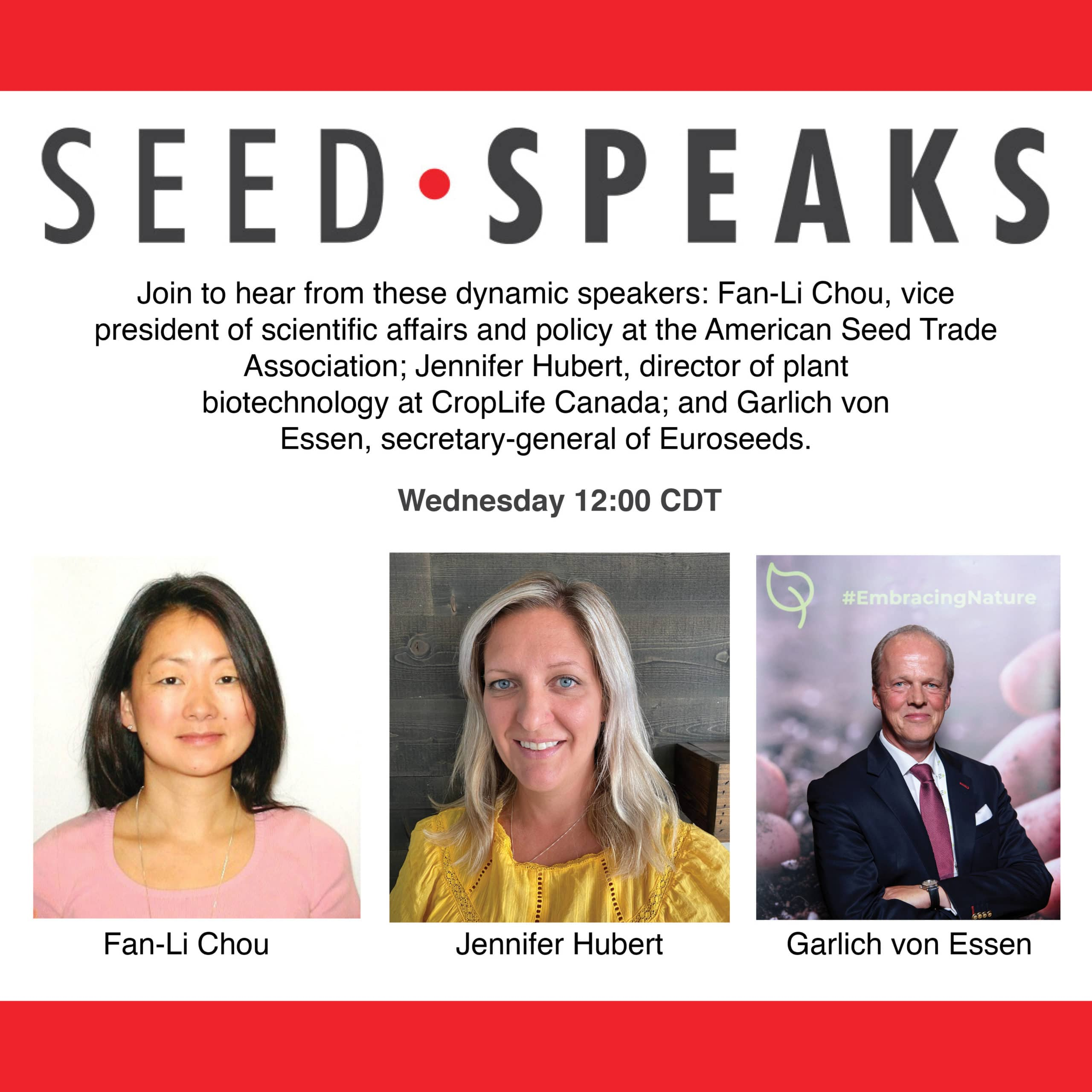 """Seed Speaks """"A Deep Dive Into NBTs Regulatory Status, Future and Place in Ag"""""""
